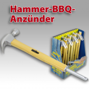 Design Anzünder Hammer