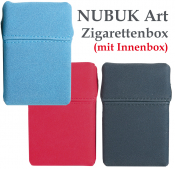 Soft Box Kunstleder nubukartig mit Innenbox farbig