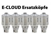 E-CLOUD eZigaretten Ersatzkopf 5er Pack