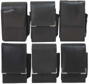 Zig Box Echt 3 x Leder & 3x Textil BLACK auch 100er