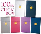 Zigaretten Box 100er Länge metallic Push Up