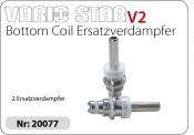VARIO STAR V2 Bottom Coil Verdampferköpfe 2er Pack