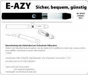 eZigarette E-AZY Convenience schwarz