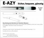 eZigarette E-AZY Convenience chrom