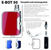 E-BOT 50 eZigaretten System SilverCig ROT