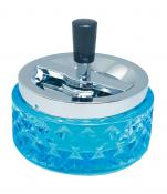 Rotationsascher 12cm Blauglas