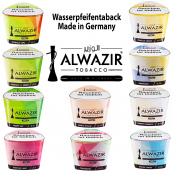 Wasserpfeifen-Tabak ALWAZIR 250g in Blechdose