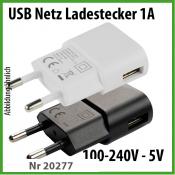 TekMee USB-Netz Universal Ladestecker 1000mA