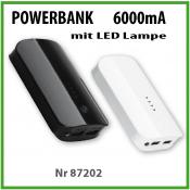Powerbank 6000mA GÜNSTIG