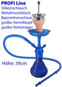 Wasserpfeife PROFI-LINE blau ca 39cm