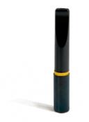 Filterspitzen schwarz mit Goldring