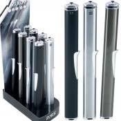 Edler Anzünder Metall schwarz 21cm