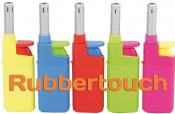 Anzünder farbig mit Gummibeschichtung mini BBQ Leichtdrücker
