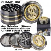 Luxusgrinder 4-teilig 50mm Champ High DOLLAR