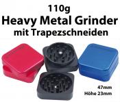 Grinder ALUMINIUM Extra HEAVY 2-teilig 47mm VE3
