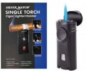 Zigarrenfeuerzeug mit JETflamme und Ablage