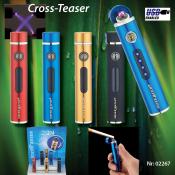 SM CROSS TASER Doppel-Lichtbogenfeuerzeug