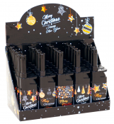 Anzünder Merry Christmas black Leichtdrücker