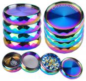 Grinder Metall 4-teilig Rainbow 42mm