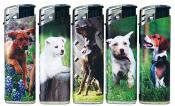Elektronikfeuerzeug junge Hunde